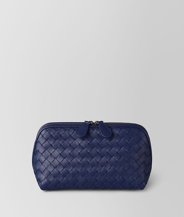 BOTTEGA VENETA ATLANTIC INTRECCIATO NAPPA COSMETIC CASE Other Leather Accessory Woman fp