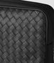 nero intrecciato calf/hi-tech canvas beauty case Front Detail Portrait