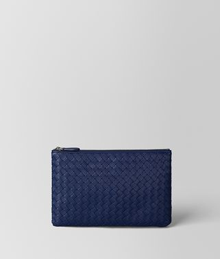 POCHETTE BILETTO IN INTRECCIATO NAPPA ATLANTIC