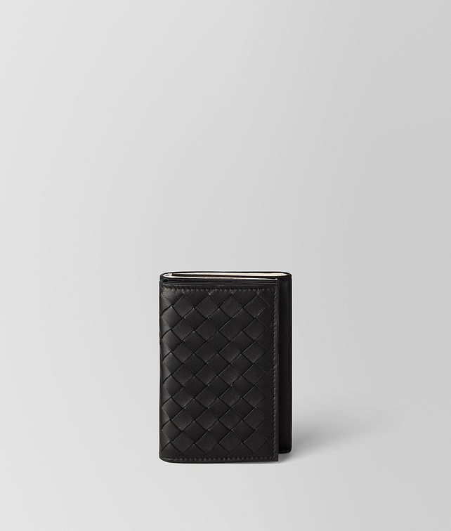 BOTTEGA VENETA NERO/MIST INTRECCIATO NAPPA MULTI-FUNCTIONAL CASE Other Leather Accessory Man fp