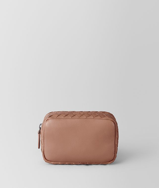BOTTEGA VENETA DAHLIA INTRECCIATO NAPPA COSMETIC CASE Other Leather Accessory [*** pickupInStoreShipping_info ***] fp