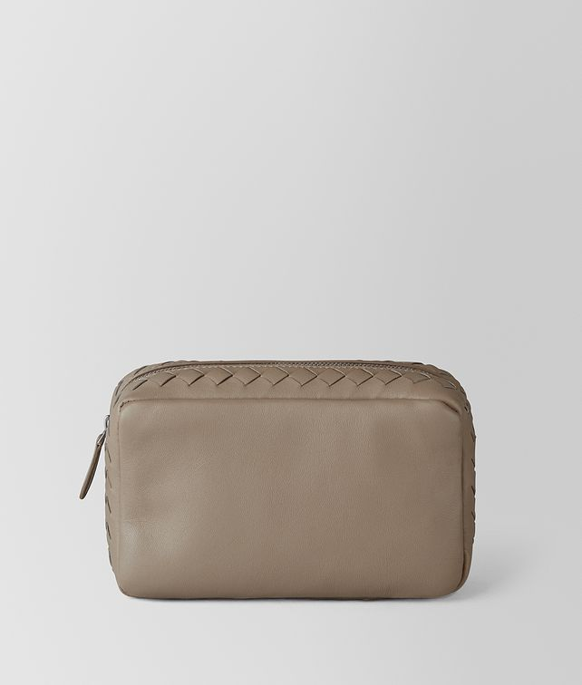 BOTTEGA VENETA LIMESTONE INTRECCIATO NAPPA COSMETIC CASE Other Leather Accessory [*** pickupInStoreShipping_info ***] fp