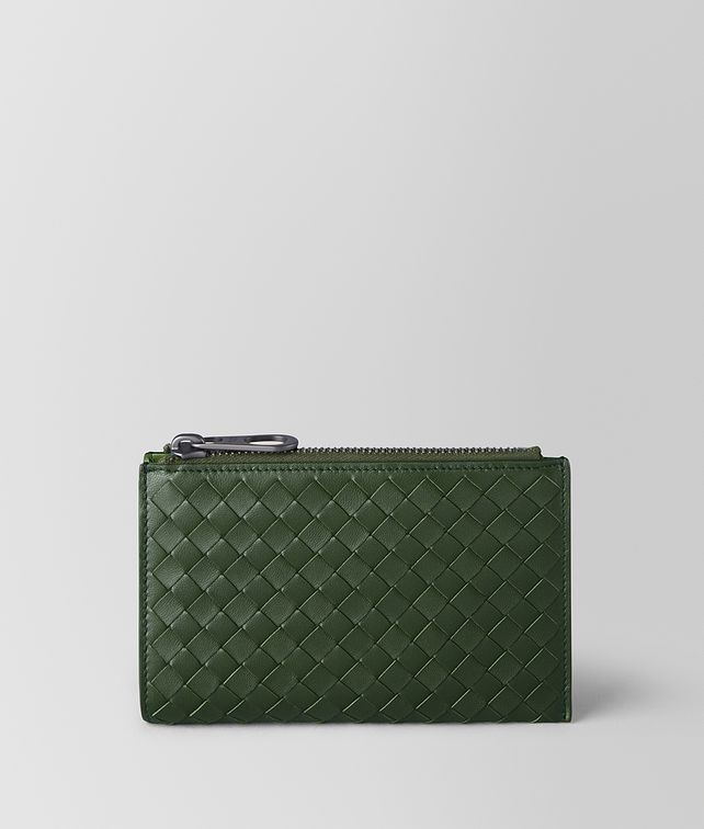 BOTTEGA VENETA FOREST/FERN INTRECCIATO NAPPA MULTI-FUNCTIONAL CASE Pouch and case [*** pickupInStoreShippingNotGuaranteed_info ***] fp