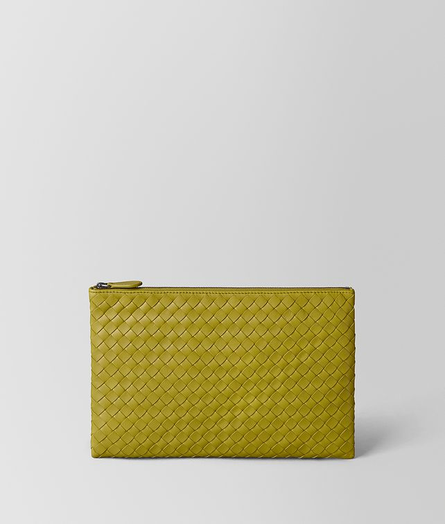 BOTTEGA VENETA CHAMOMILE INTRECCIATO NAPPA BILETTO Other Leather Accessory E fp