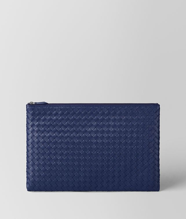 BOTTEGA VENETA POCHETTE BILETTO IN INTRECCIATO NAPPA ATLANTIC Altro accessorio in pelle E fp