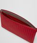 BOTTEGA VENETA CHINA RED INTRECCIATO NAPPA BILETTO Other Leather Accessory E ap
