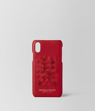 CHINA RED INTRECCIATO AYERS HIGH-TECH CASE