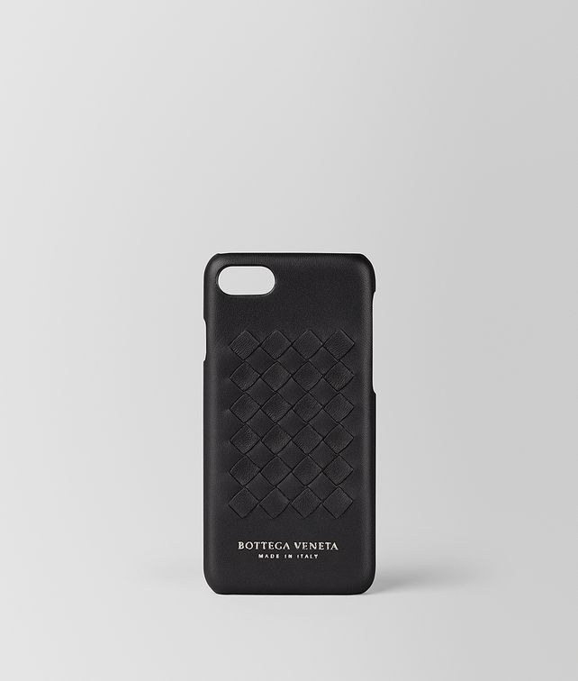 BOTTEGA VENETA NERO INTRECCIATO NAPPA HIGH-TECH CASE  Tech Accessory E fp