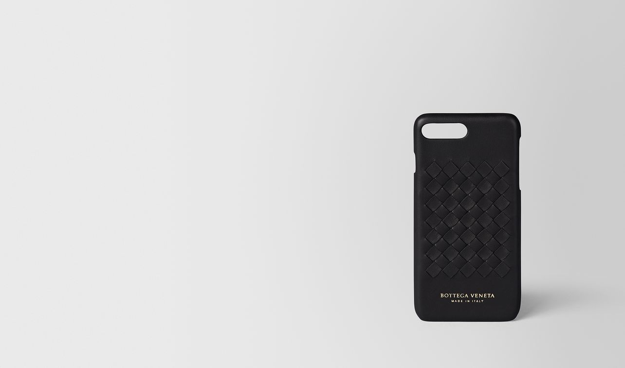 nero intrecciato nappa high-tech case  landing