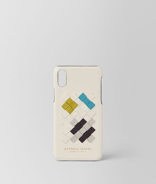 CUSTODIA PER SMARTPHONE IN INTRECCIATO ABSTRACT MIST