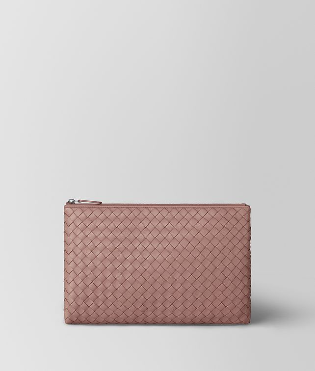 BOTTEGA VENETA DECO ROSE INTRECCIATO NAPPA MEDIUM BILETTO Other Leather Accessory E fp