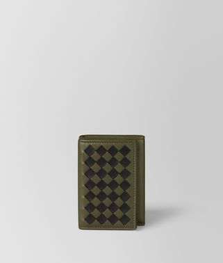 MUSTARD/NERO INTRECCIATO CHECKER MULTI-FUNCTIONAL CASE