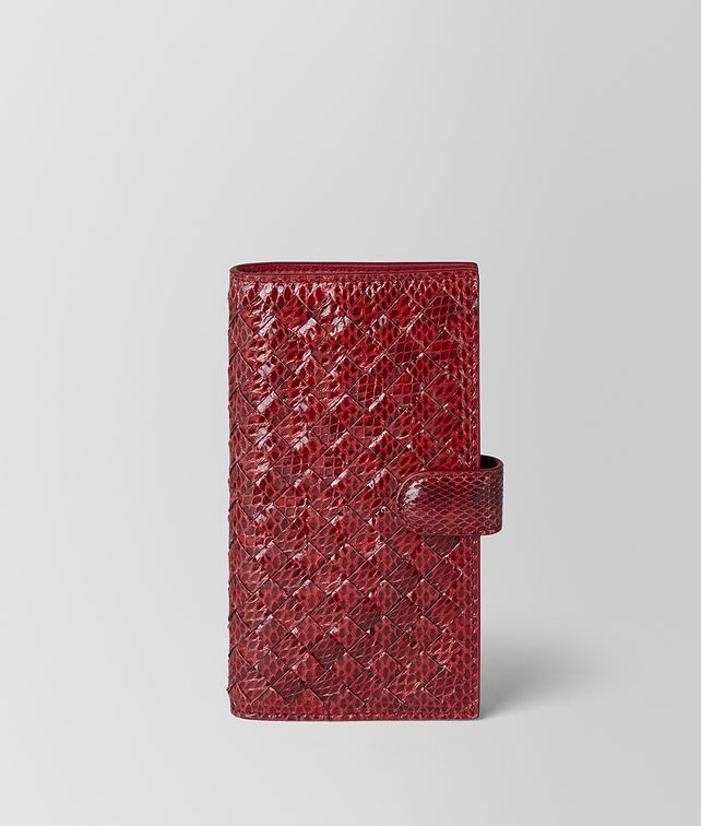 BOTTEGA VENETA HIGH-TECH CASE IN AYERS AND INTRECCIATO NAPPA Tech Accessory E fp