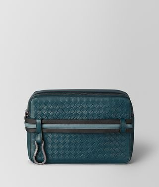 TOILETRY CASE IN INTRECCIATO VN AND NAPPA