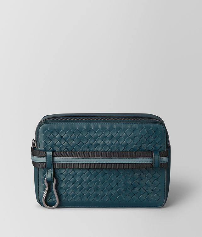 BOTTEGA VENETA TOILETRY CASE IN INTRECCIATO VN AND NAPPA Pouch [*** pickupInStoreShippingNotGuaranteed_info ***] fp