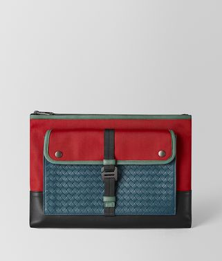 MULTI-FUNCTIONAL CASE IN MICRO-INTRECCIATO EMBOSSED