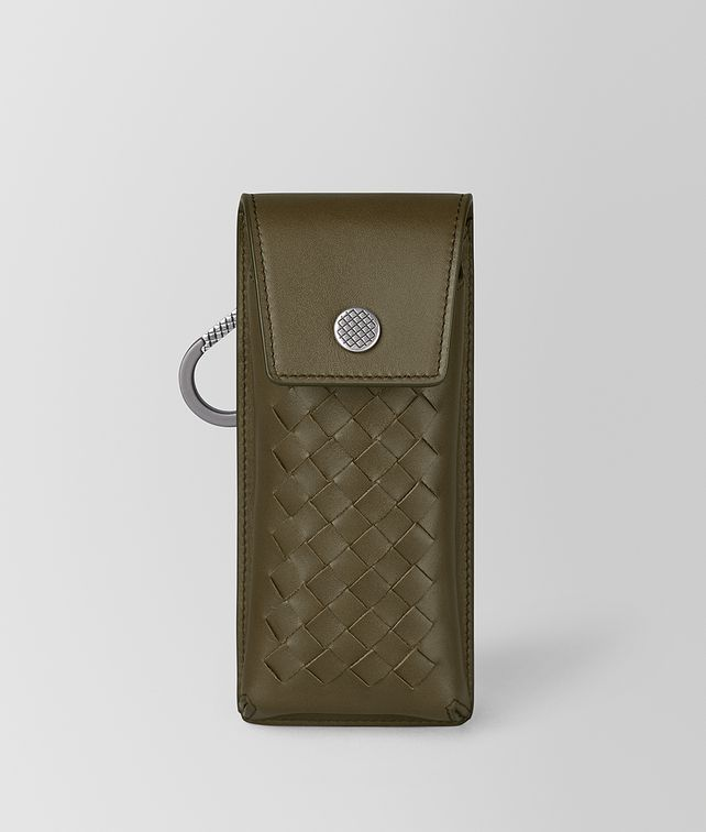 BOTTEGA VENETA GLASSES CASE IN INTRECCIATO VN Other Leather Accessory [*** pickupInStoreShippingNotGuaranteed_info ***] fp