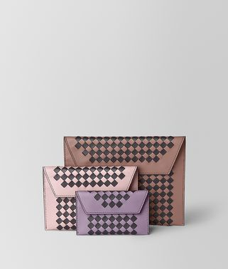 MULTIPOUCH IN INTRECCIATO CHECKER