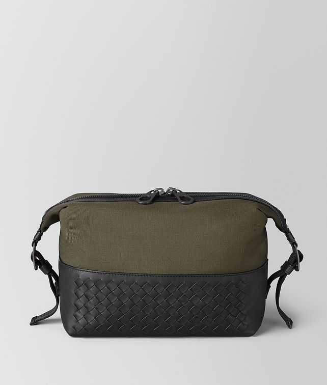 BOTTEGA VENETA TOILETRY CASE IN MERIDIAN Pouch [*** pickupInStoreShippingNotGuaranteed_info ***] fp