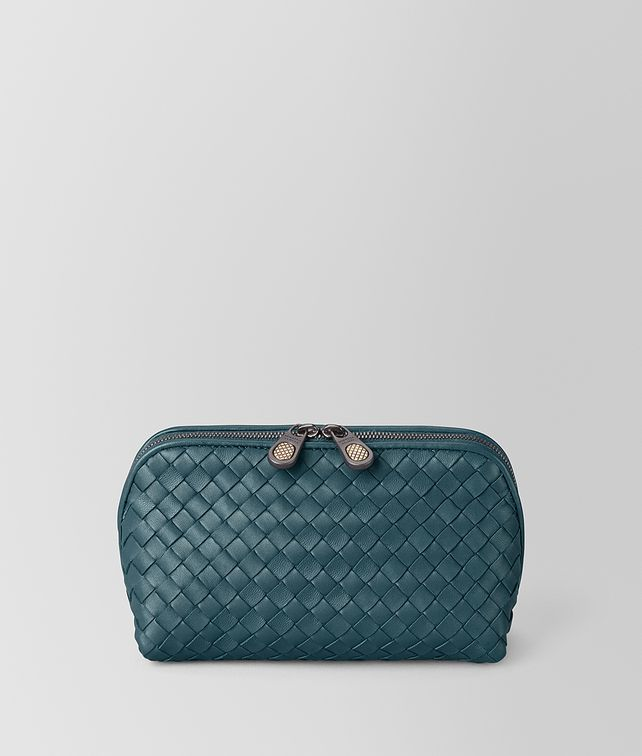 4cd7201a1f82 BOTTEGA VENETA COSMETIC CASE IN INTRECCIATO NAPPA Other Accessories       pickupInStoreShipping info