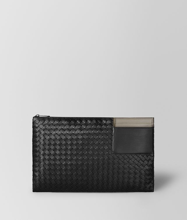 BOTTEGA VENETA MULTI-FUNCTIONAL CASE IN MICRO-INTRECCIATO EMBOSSED Pouch and case [*** pickupInStoreShippingNotGuaranteed_info ***] fp