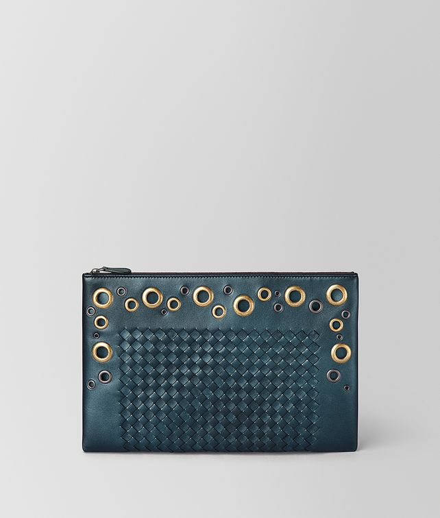 BOTTEGA VENETA BILETTO IN INTRECCIATO LACE Pouch and case E fp