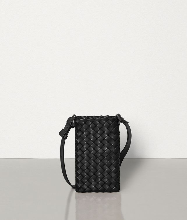 BOTTEGA VENETA CUSTODIA HI-TECH IN INTRECCIO CABAT Pochette [*** pickupInStoreShippingNotGuaranteed_info ***] fp
