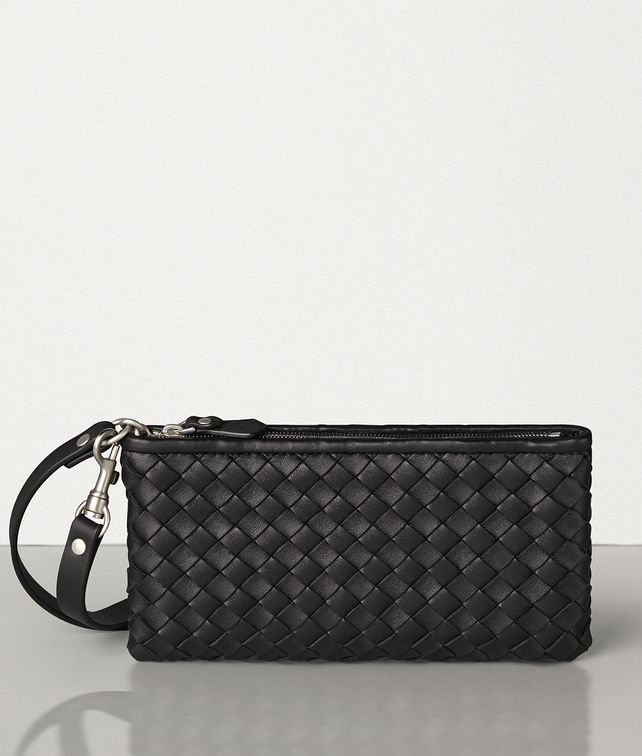 BOTTEGA VENETA HI-TECH POUCH IN INTRECCIO CABAT Other Accessories E fp