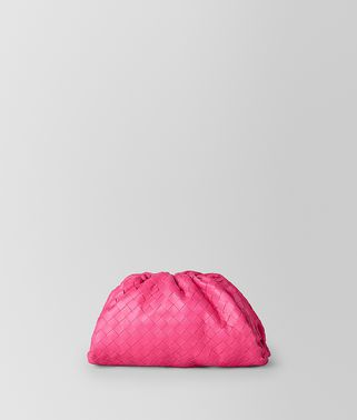 THE POUCH 20 IN VELVET CALF INTRECCIATO LEATHER