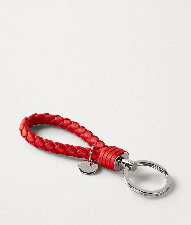 BOTTEGA VENETA KEY RING IN INTRECCIATO NAPPA Other Accessories E fp