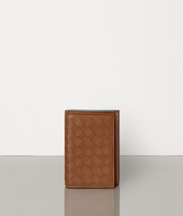 BOTTEGA VENETA TRI-FOLD WALLET IN INTRECCIATO NAPPA Other Accessories Man fp