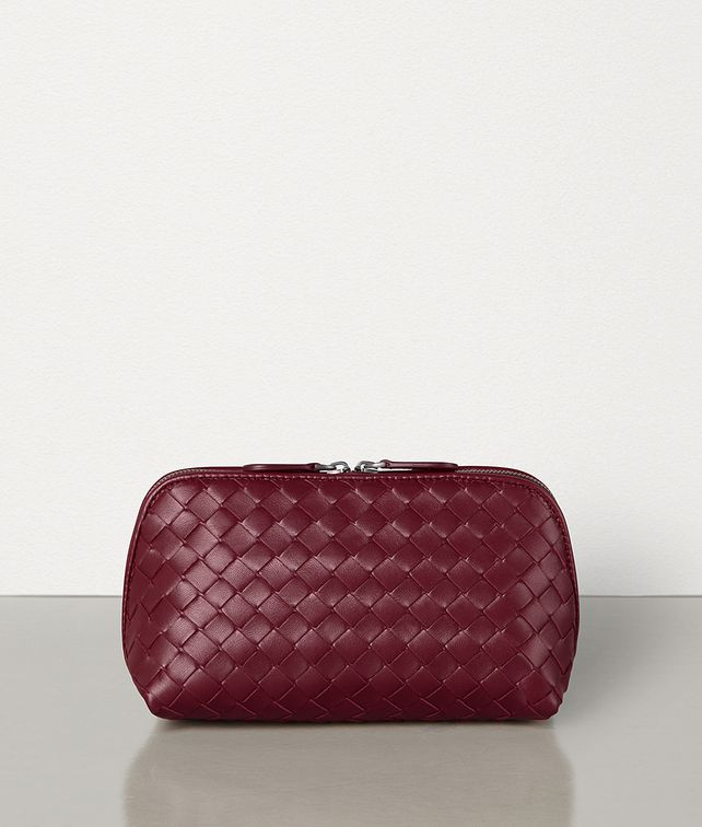 BOTTEGA VENETA COSMETIC CASE IN INTRECCIATO NAPPA Other Accessories Woman fp