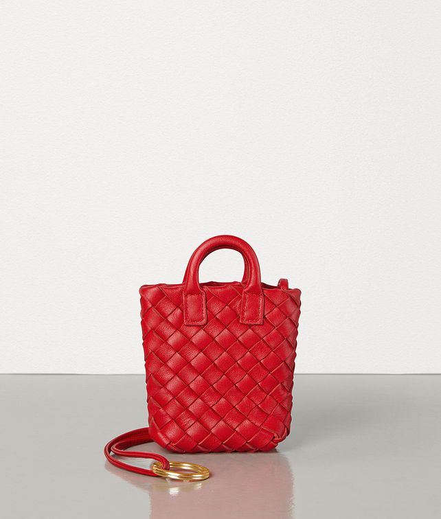 BOTTEGA VENETA CHARM IN INTRECCIATO NAPPA Other Accessories E fp