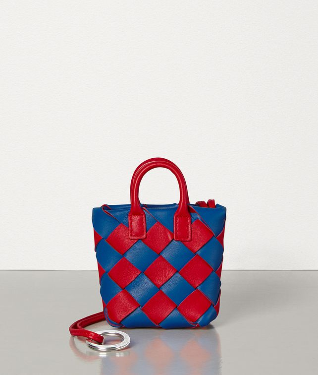 BOTTEGA VENETA CHARM IN INTRECCIATO BICOLOUR NAPPA Other Accessories E fp
