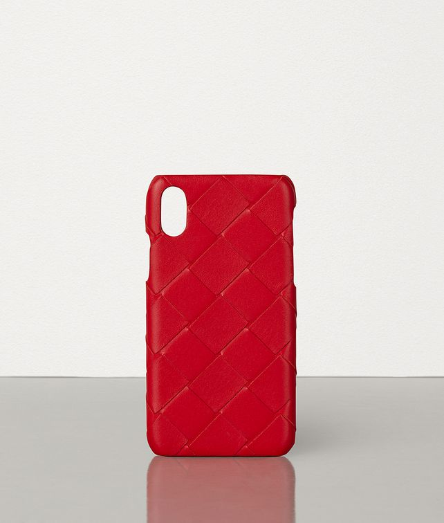 BOTTEGA VENETA IPHONE X/XS CASE IN INTRECCIATO NAPPA Other Accessories E fp