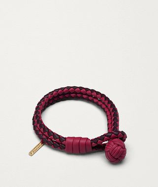 INTRECCIATO编织小羊皮双色手链