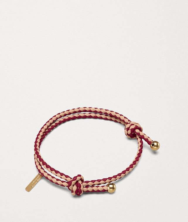 BOTTEGA VENETA BRACELET IN BICOLOUR INTRECCIATO NAPPA Other Accessories E fp