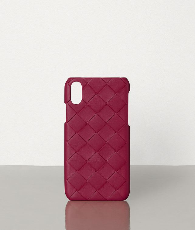 BOTTEGA VENETA IPHONE X/XS CASE IN MAXI INTRECCIO Other Accessories E fp