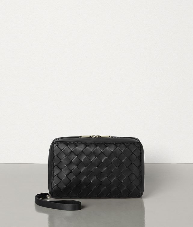 BOTTEGA VENETA TOILETRY CASE IN INTRECCIATO NAPPA Other Accessories Man fp