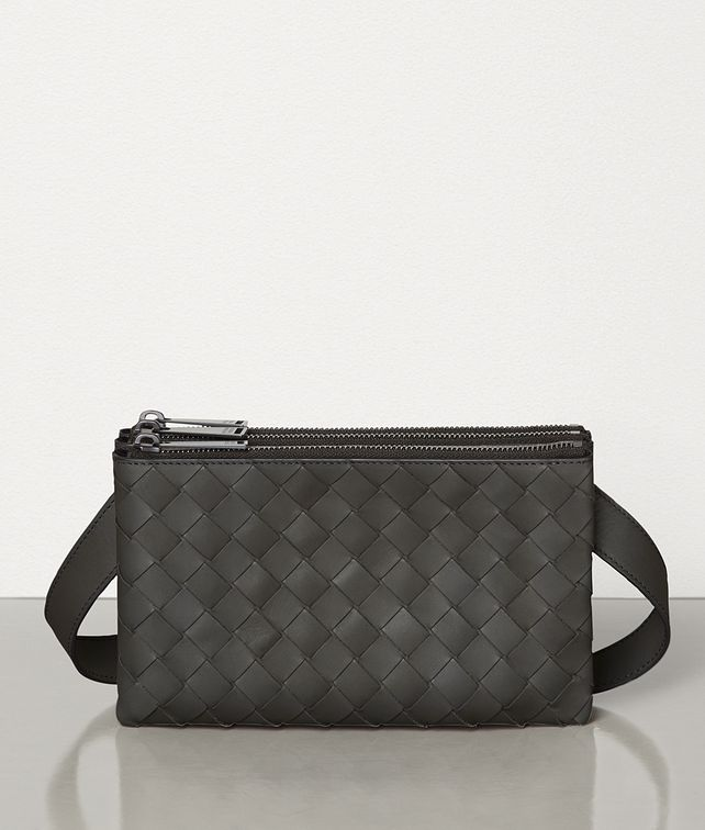 BOTTEGA VENETA MINI MESSENGER BAG IN INTRECCIATO VN Other Accessories Man fp