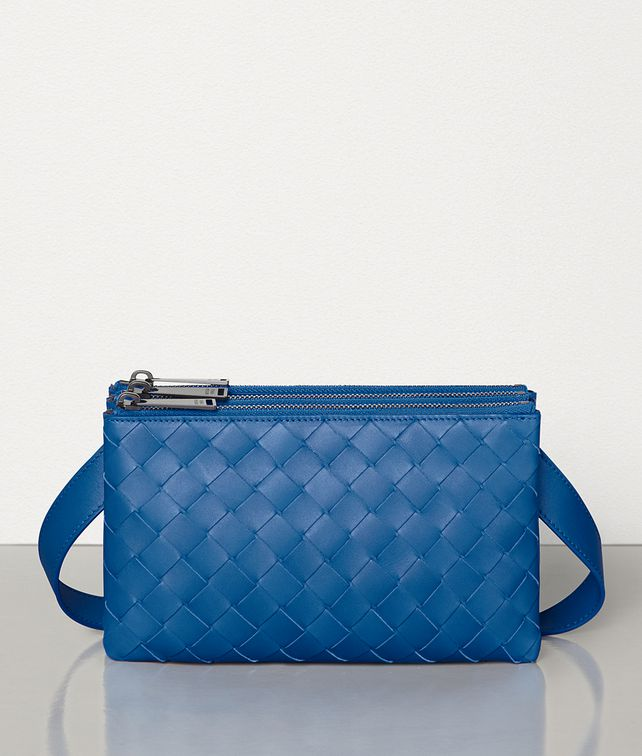 BOTTEGA VENETA MINI MESSENGER IN INTRECCIATO VN Other Accessories Man fp