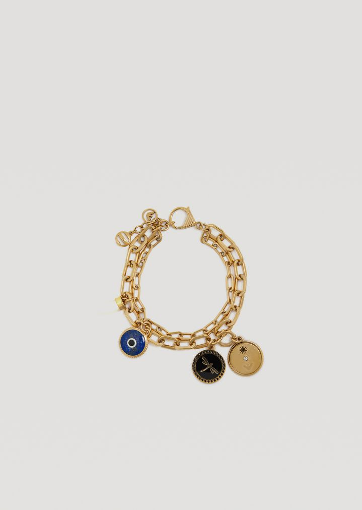 Eyes on the world bracelet in stainless steel with good luck charm emporio armani eyes on the world bracelet in stainless steel with good luck charm bracelet woman aloadofball Gallery