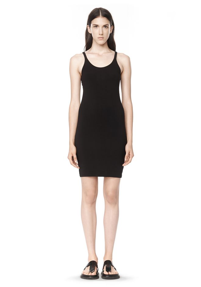 T by ALEXANDER WANG Short Dresses MODAL SPANDEX CAMI TANK DRESS