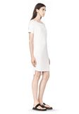 T by ALEXANDER WANG CLASSIC BOATNECK DRESS WITH POCKET Short Dress Adult 8_n_a