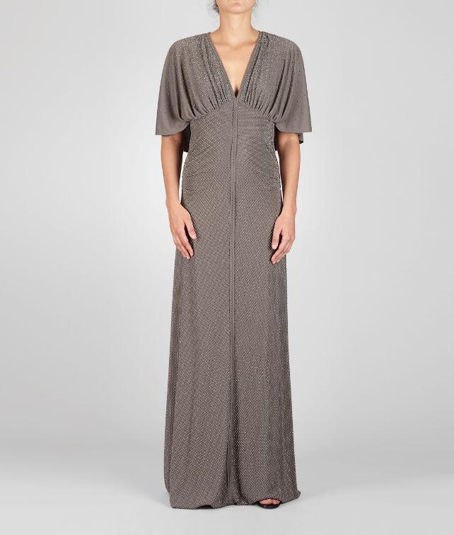 BOTTEGA VENETA Studded Crepe Viscose Jersey Dress Dress D fp