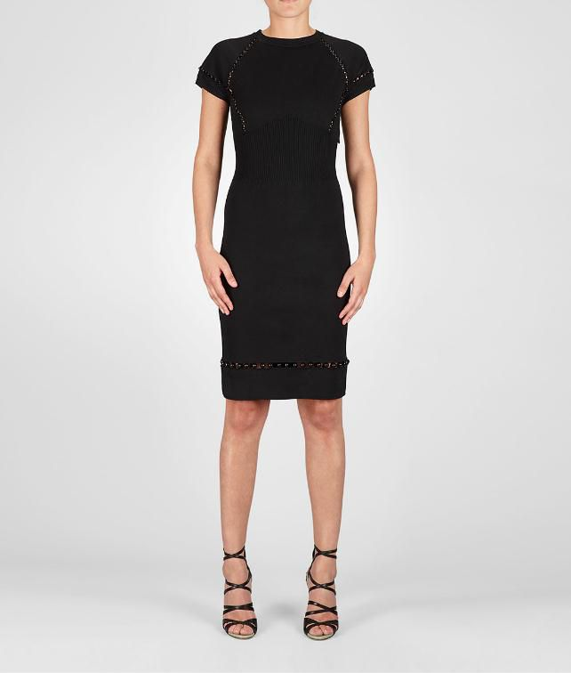 BOTTEGA VENETA Compact Viscosa Dress Dress D fp