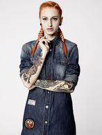 DIESEL REBOOT-DENIM-SHIRT-D Robe D e