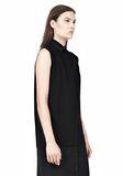 T by ALEXANDER WANG SILK CHFFON OVER CDC SHIRT DRESS 3/4 length dress Adult 8_n_d