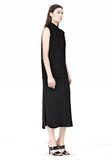 T by ALEXANDER WANG SILK CHFFON OVER CDC SHIRT DRESS 3/4 length dress Adult 8_n_e