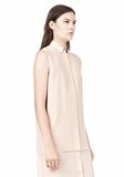 T by ALEXANDER WANG SILK CHFFON OVER CDC SHIRT DRESS 3/4 length dress Adult 8_n_d